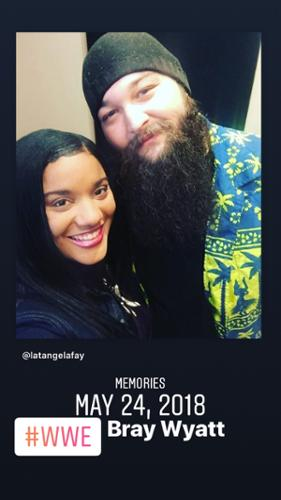 LaTangela Fay and WWE's Bray Wyatt